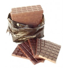 Chocolat noir - vanille de couverture, 25x100g