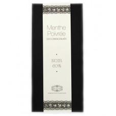 """Chocolat noir """"Menthe Poivrée"""", Jardin des Monts, 90g"""