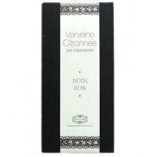 """Chocolat noir """"Verveine Citronnée"""", Jardin des Monts, 90g"""