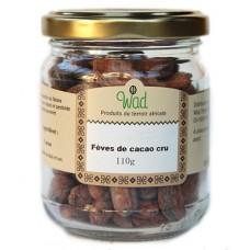 Fèves de cacao cru, WAD, 110g