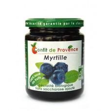 Confiture de myrtilles sans sucre ajouté, Confit de Provence,  290g