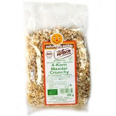 Crunchy amande aux 4 céréales sans gluten / 4-Korn Mandel Crunchy, Werz, 250g