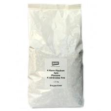 Flocons 4 céréales fins demeter, Biopartner, 1,5kg