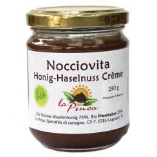 0 Nocciovita, miel tessinois aux noisettes / Honig-Haselnuss Crème, La Pinca, 230g