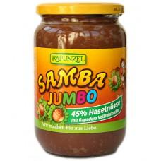 "Pâte à tartiner chocolatée aux noisettes ""Samba Jumbo"", Rapunzel, 750g"