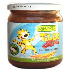 Pâte à tartiner nougat noisettes / Tiger Creme, Rapunzel, 400g