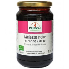 Mélasse noire de canne à sucre, Priméal, 450g