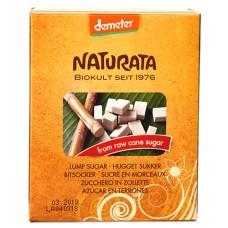 Sucre de canne brut en morceaux Demeter / Würfelzucker, Naturata, 500g